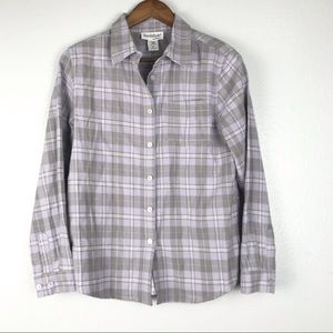 NorthStyle Plaid Flannel Shirt Size M